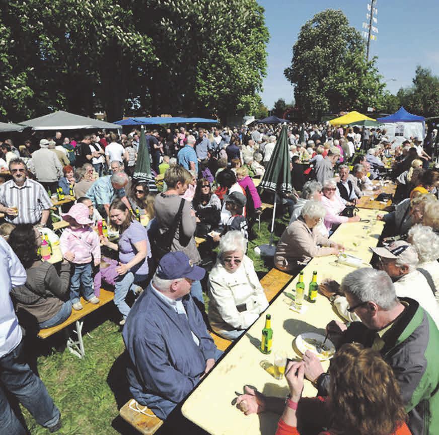 Das Stederdorfer Maibaumfest blickt auf eine 25-jährige Historie zurück.
