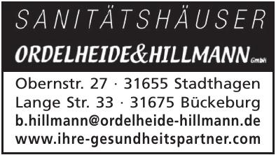 Sanitätshäuser Ordelheide & Hillmann GmbH