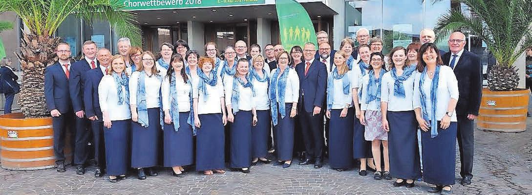 Vom 8. bis 13. Mai 2018 weilte der A-cappella-Chor beim 10. Deutschen Chorwettbewerb in Freiburg
