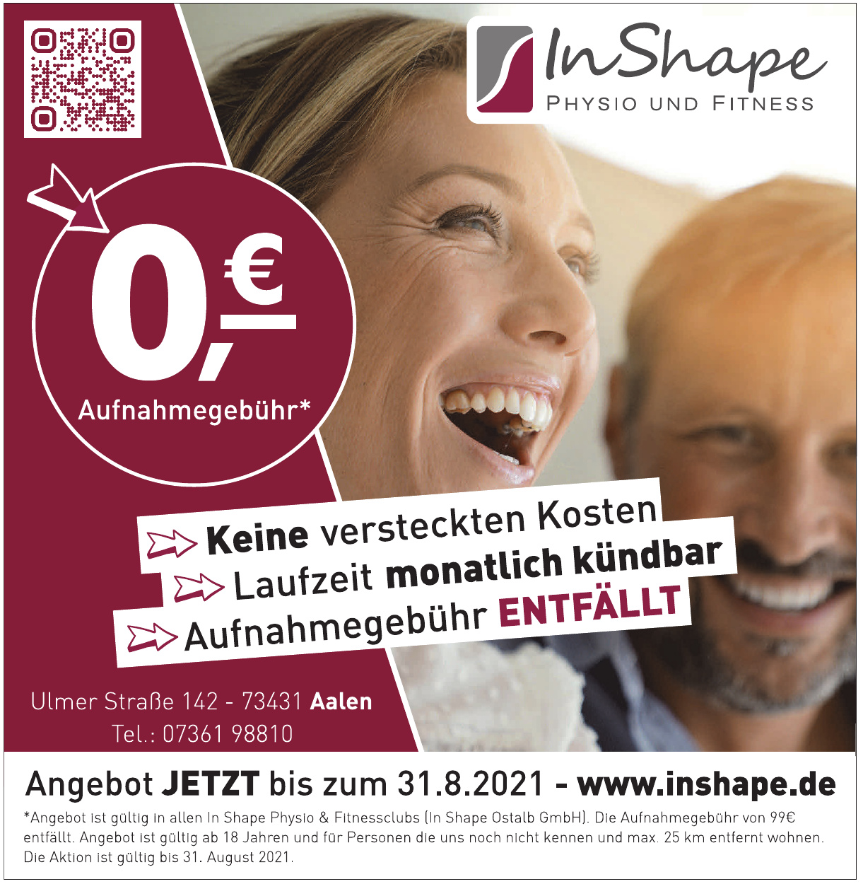 In Shape Physio und Fitness