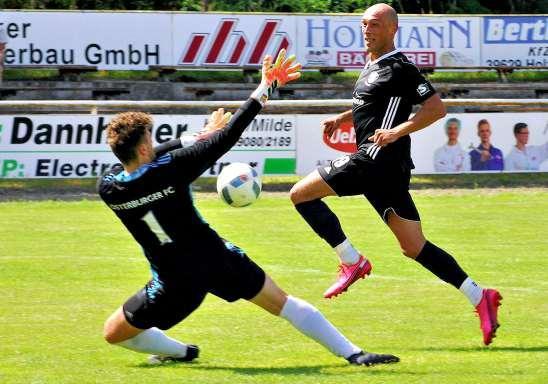 Robert Schmidt soll beim TuS Bismar für die nötigen Treffer sorgen FOTO: UWE MEYER