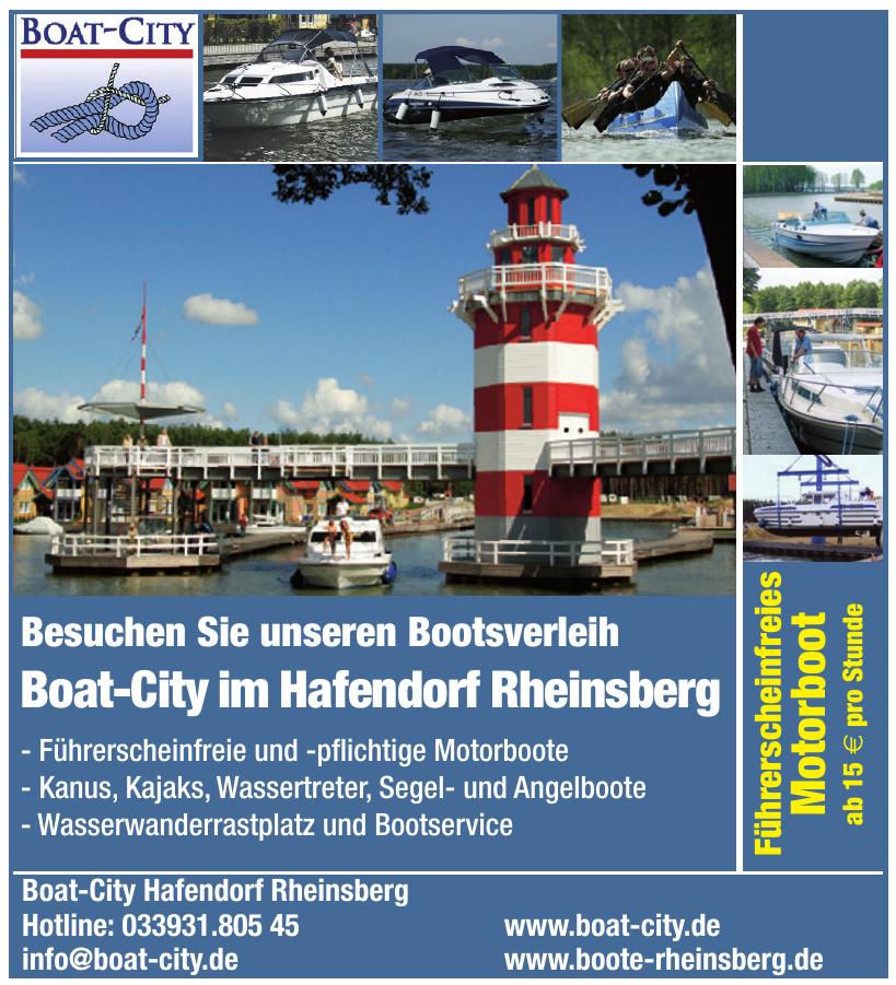 Boat-City Hafendorf Rheinsberg
