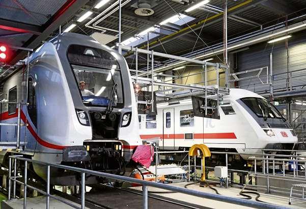 Wer sich für einen technischen Beruf bei der Deutschen Bahn interessiert, kann jetzt noch einen Ausbildungsplatz ergattern. FOTO: BODO SCHACKOW / DPA