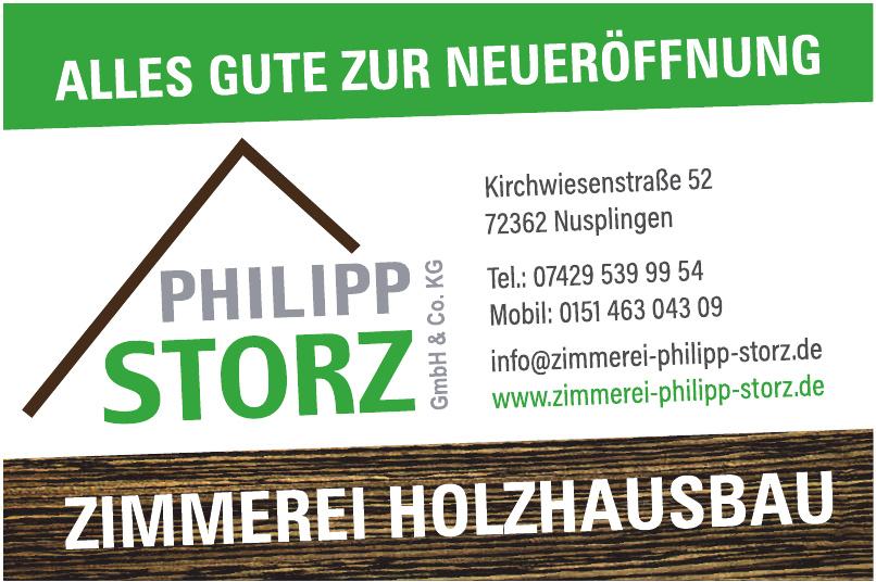 Zimmerei Holzhausbau Philipp Storz GmbH & Co. KG