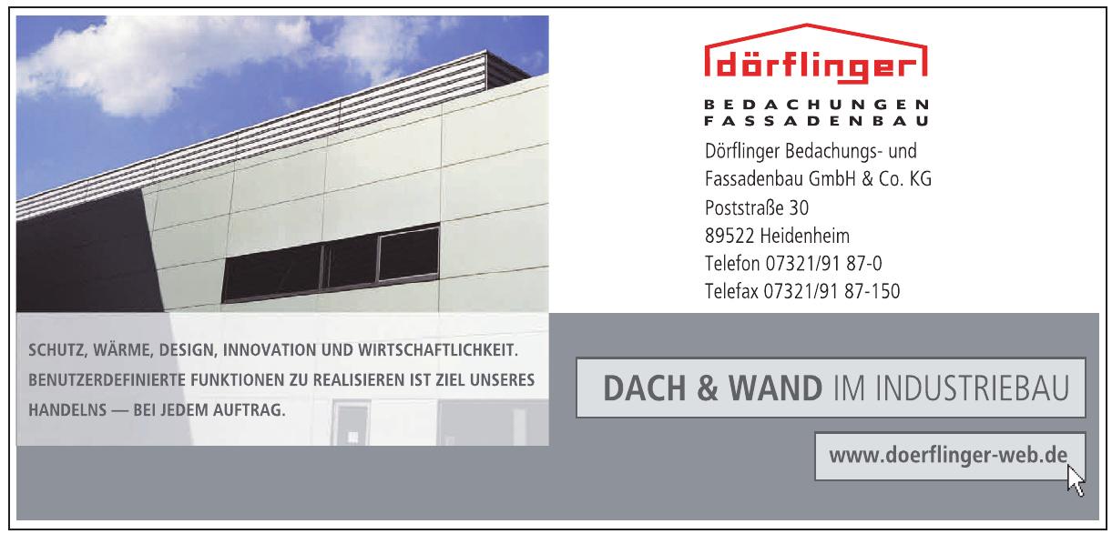 Dörflinger Bedachungs- und Fassadenbau GmbH & Co. KG