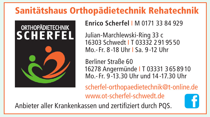 Orthopädietechnik Scherfel