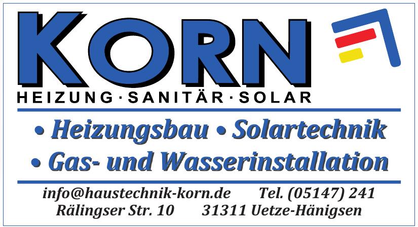 Korn Heizung, Sanitär, Solar