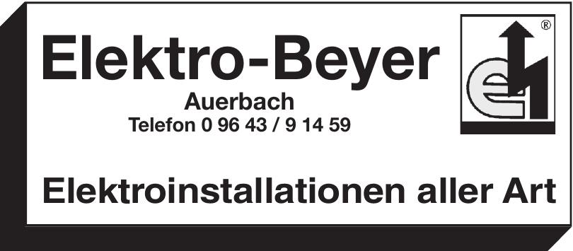 Elektro-Beyer