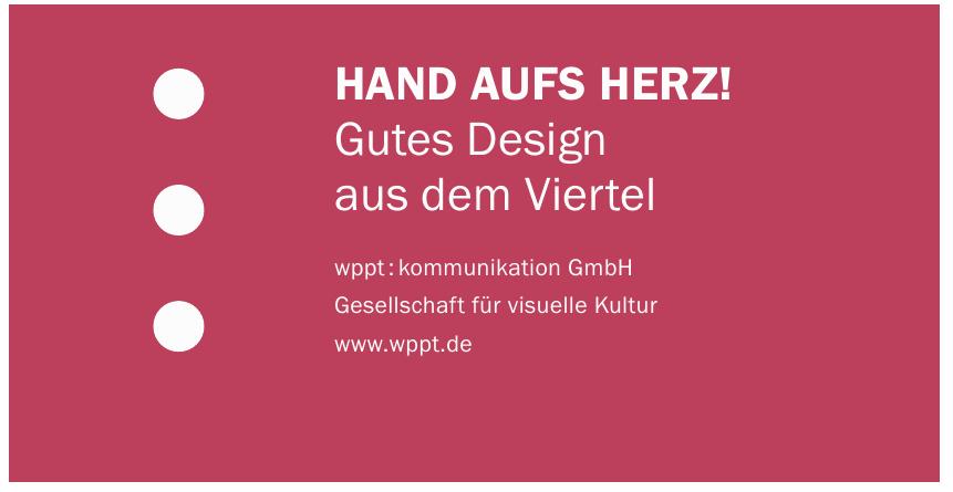 wppt : kommunikation GmbH