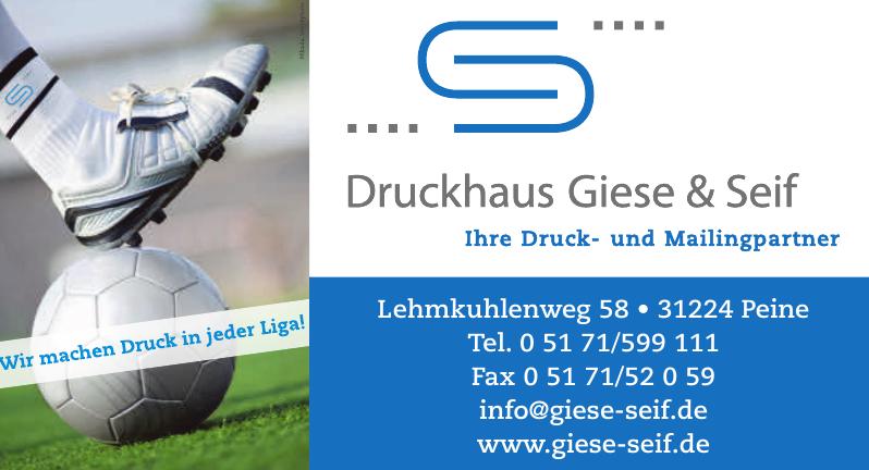 Druckhaus Giese & Seif