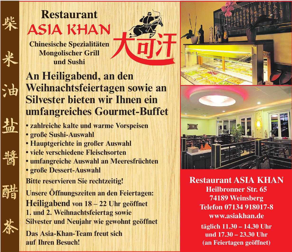 Restaurant Asia Khan
