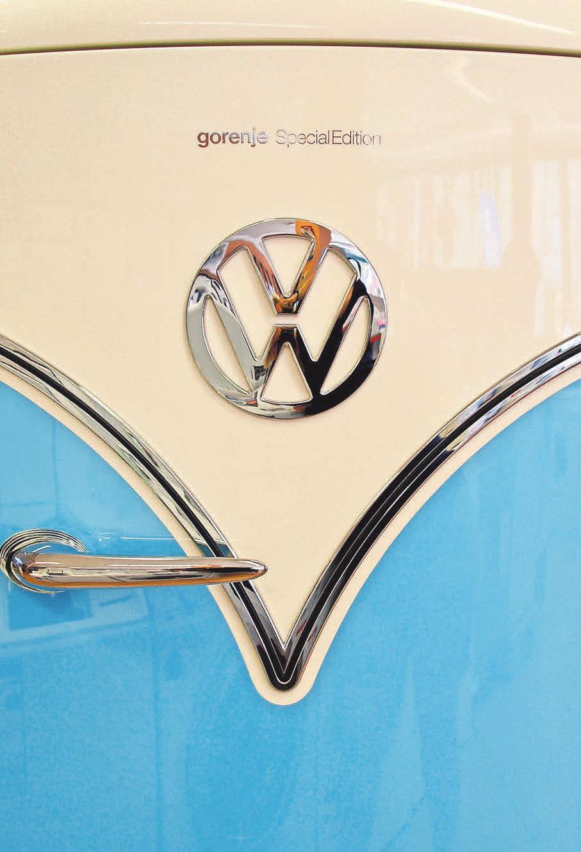 Originell und effizient: Der VW-Bulli-Retro-Kühlschrank