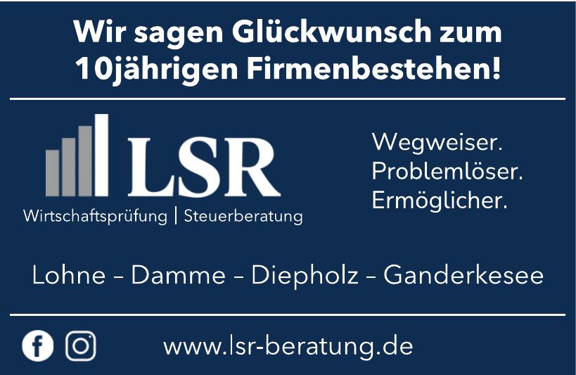 LSR Wirtschaftsprüfung Steuerberatung
