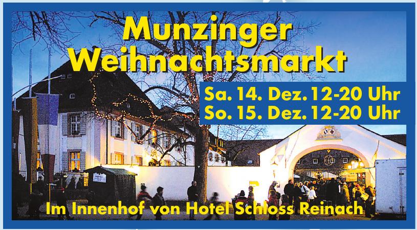 Munzinger Weihnachtsmarkt