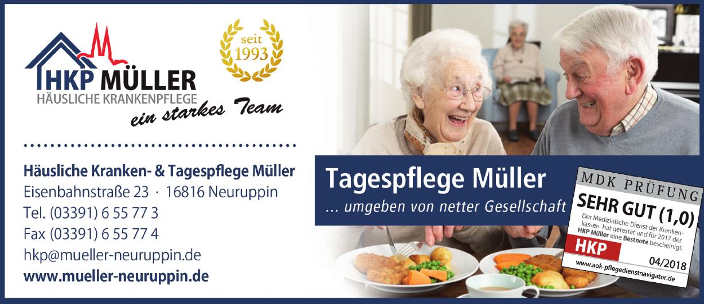 Häusliche Kranken- & Tagespflege Müller