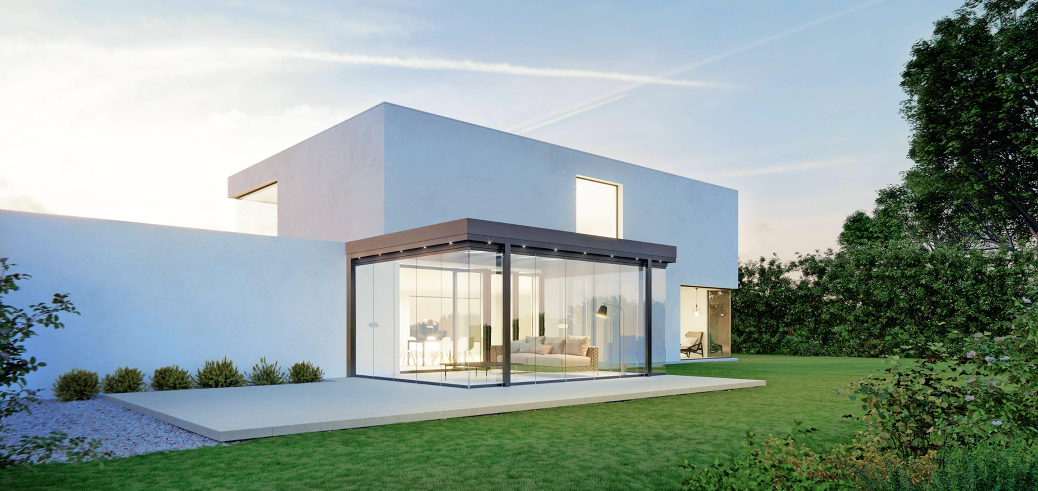 Der Metallbau ist einer der Traditionsbereiche von Scheu Design und Technik. Überdachungen für Terrassen werden von den Mitarbeitern des Familienunternehmens beispielsweise fachmännisch durchgeführt. Foto: Solarlux