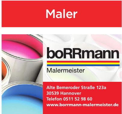 Borrmann Mmalermeister