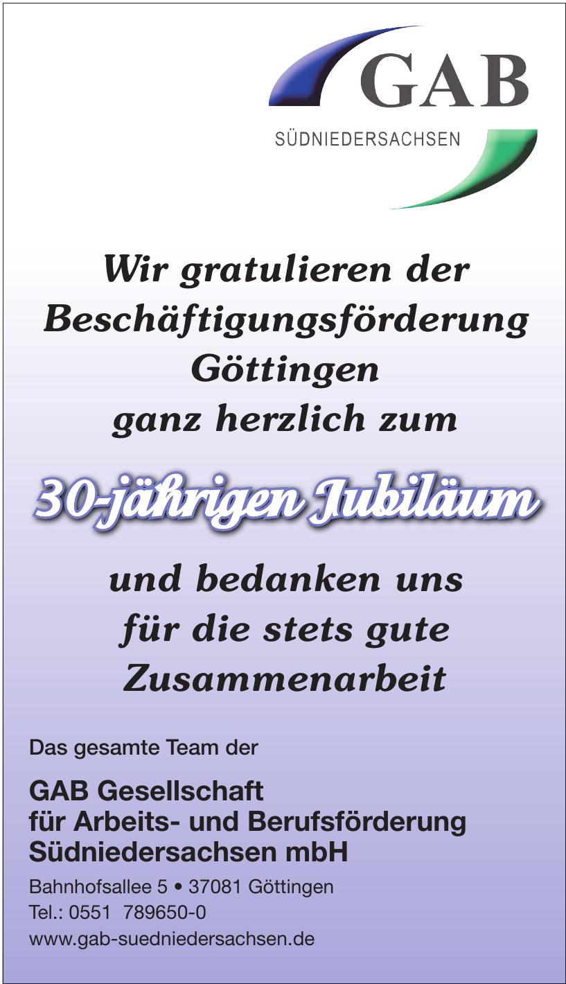 GAB Gesellschaft für Arbeits- und Berufsförderung Südniedersachsen mbH