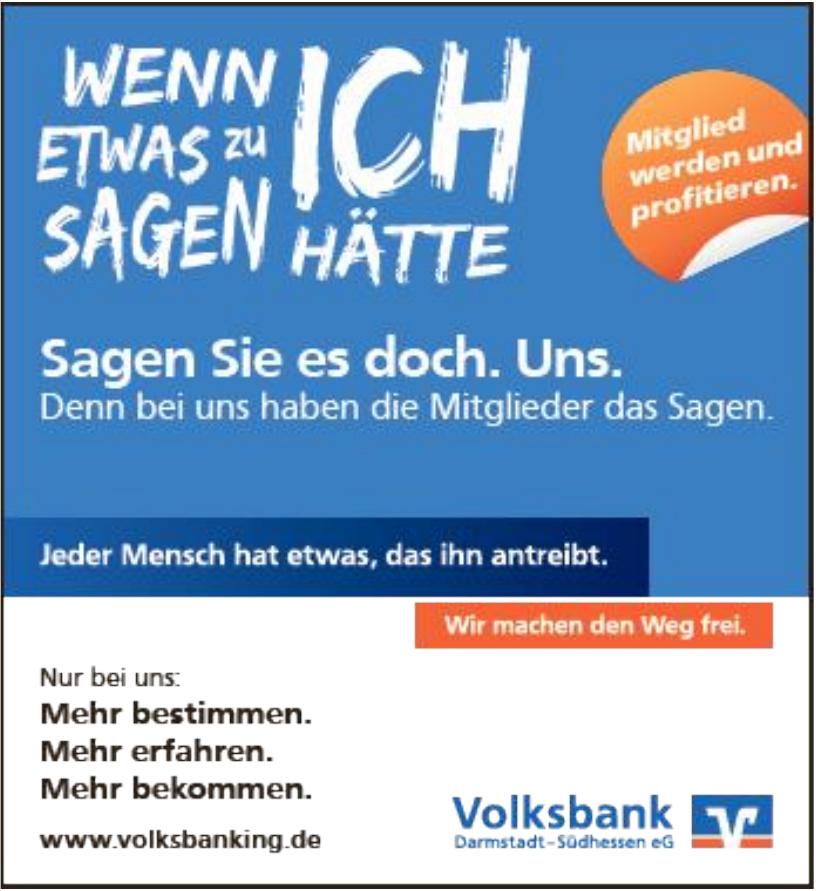 Volksbank Darmstadt-Südhessen eG
