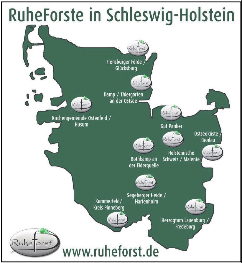 RuheForste in Schleswig-Holstein