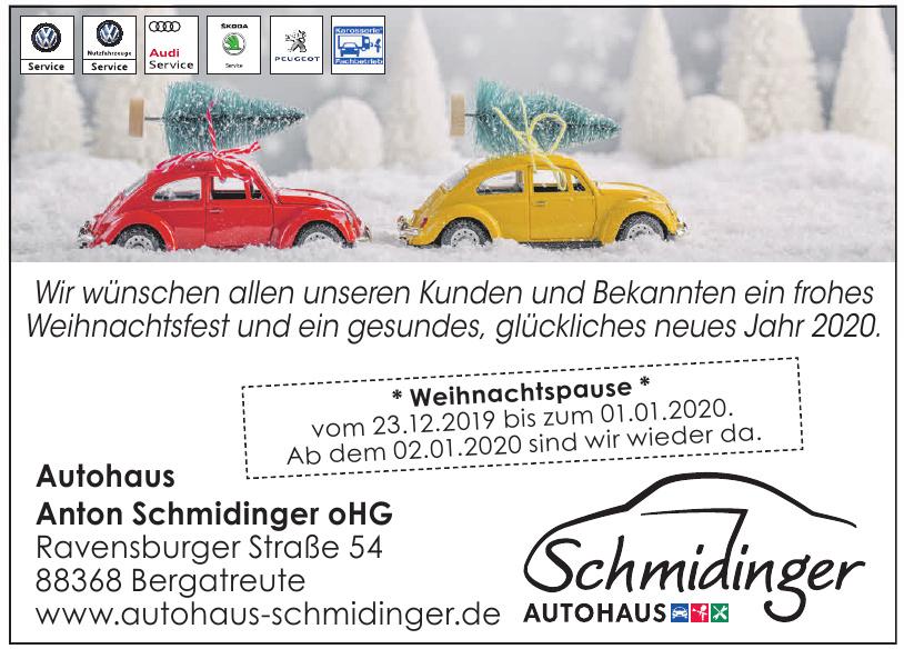 Autohaus Anton Schmidinger oHG