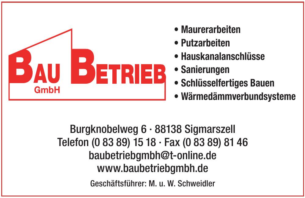 Bau Betrieb GmbH