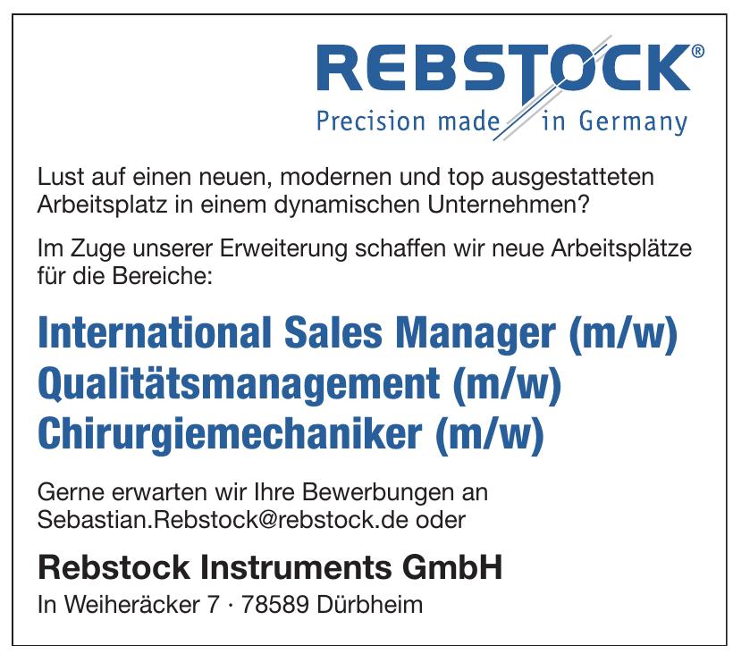 Rebstock Instruments GmbH