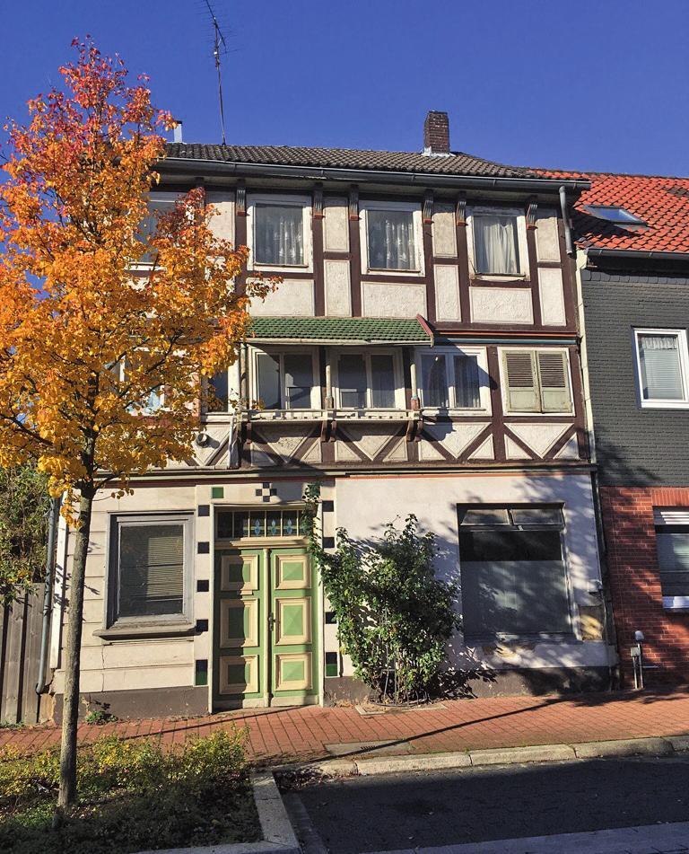 In diesem Hause in Peine, Rosenhagen 24, verbrachte Krasnapolsky einen Teil seiner Kindheit und Jugend.