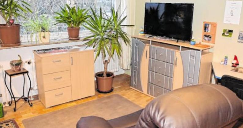 In Einzel- und Doppelzimmern leben die Bewohner beschützt und werden rund um die Uhr betreut. BILD: HAUS AM SONNENBERG/SASCHA BICKEL<br>