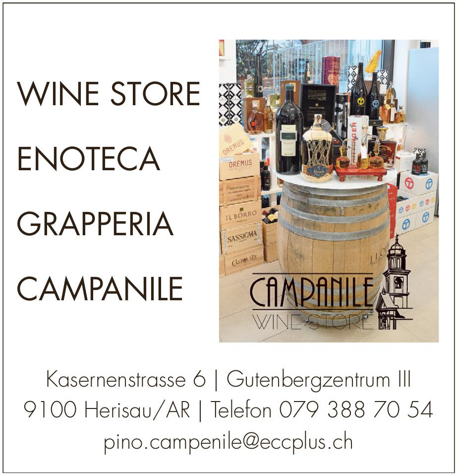 Campanile Wine Store