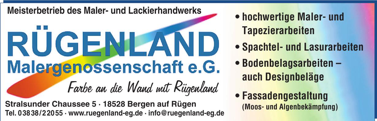 Rügenland Malergenossenschaft e.G.