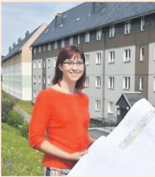 Sophia Mäschker ist Geschäftsführerin der WVG Altenberg mbH