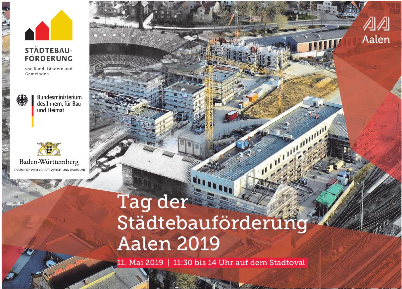 Tag der Städtebauförderung Aalen 2019