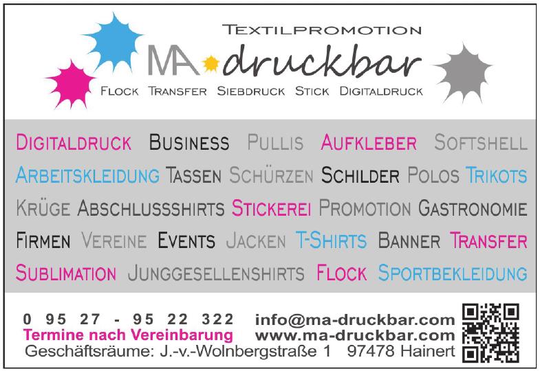 Ma-druckbar