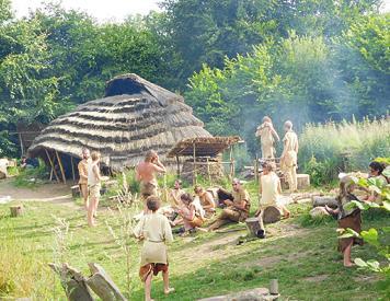 So lebte man in einem Dorf während der Steinzeit