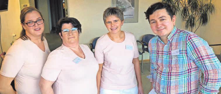DermaGarbsen heißt die Praxis von Hautarzt Juan Carlos Gerdes-Blank (rechts).