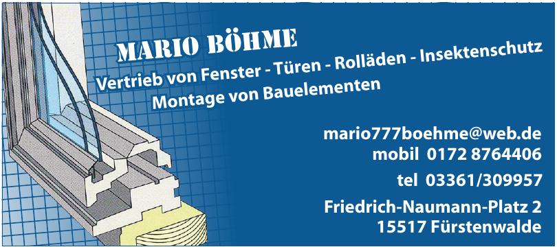 Mario Böhme