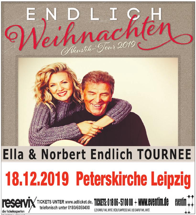 Ella & Norbert Endlich Tournee