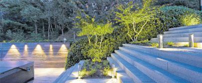 """Das modulare Lichtsystem """"in-lite"""" setzt Ihren Garten gekonnt in Szene. Foto: Hersteller"""
