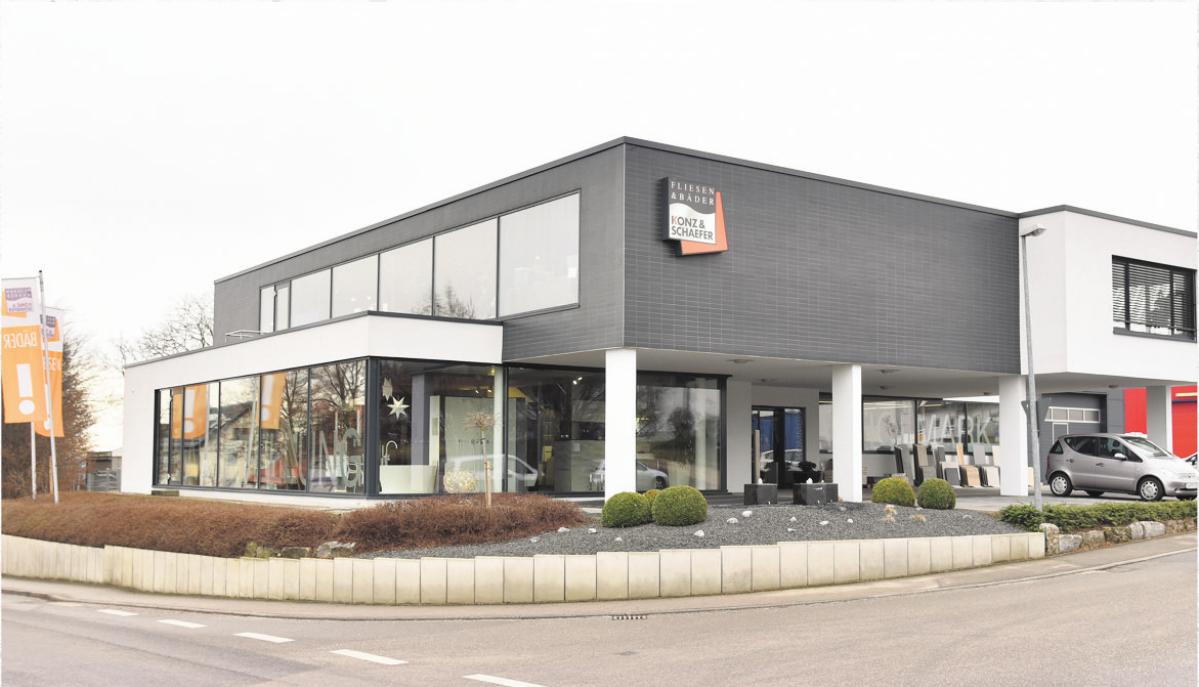 Seit 2009 residiert die Konz & Schaefer GmbH in LE-Stetten. Foto: Günter Bergmann