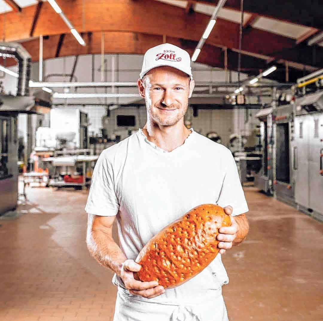 Daniel Zoll gibt Einblicke in seine Bäckerei. FOTOS: OH