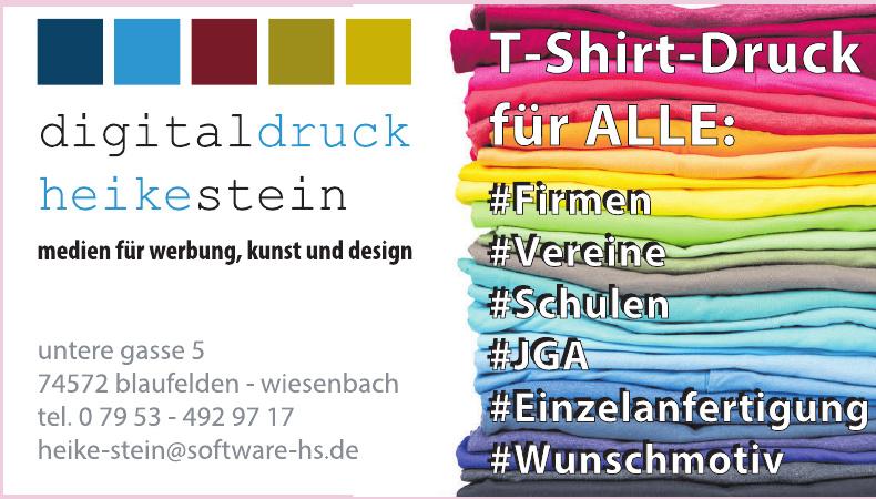 Digitaldruck Heike Stein