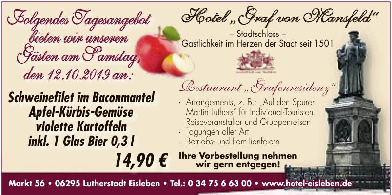 """Hotel """"Graf von Mansfeld"""""""