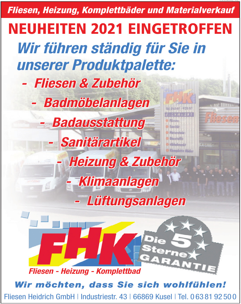 Fliesen Heidrich GmbH