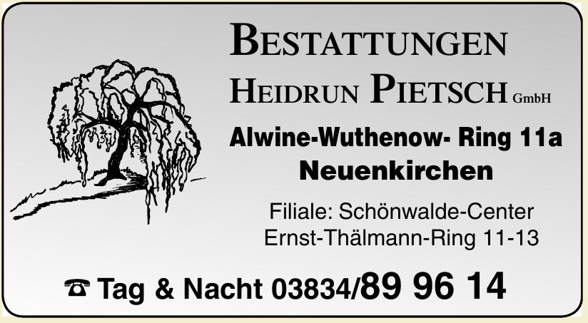 Bestattungen Heidrun Pietsch GmbH