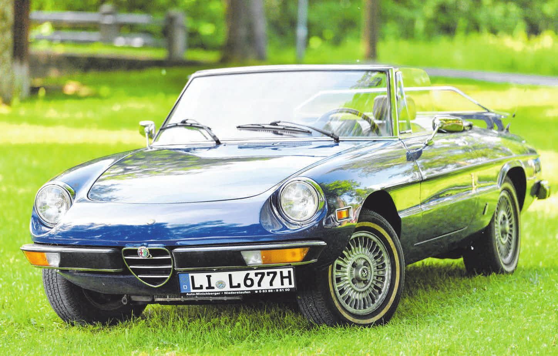 Im Wasserburger Oldtimer-Club geht es vor allem um Spaß und Freude an historischen Fahrzeugen. Fotos: Lang/cf
