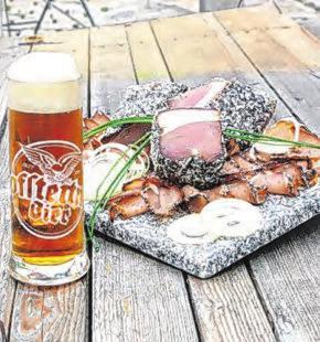 Granitbier zur Jause <span>Fotos: Brauerei Hofstetten</span>