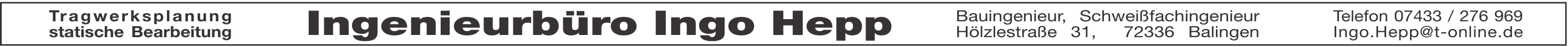 Ingenieurbüro Ingo Hepp
