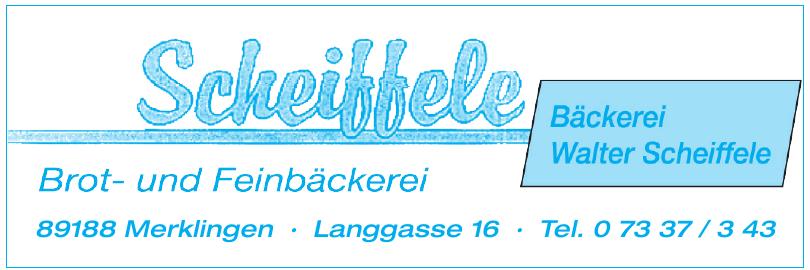Bäckerei Scheiffele