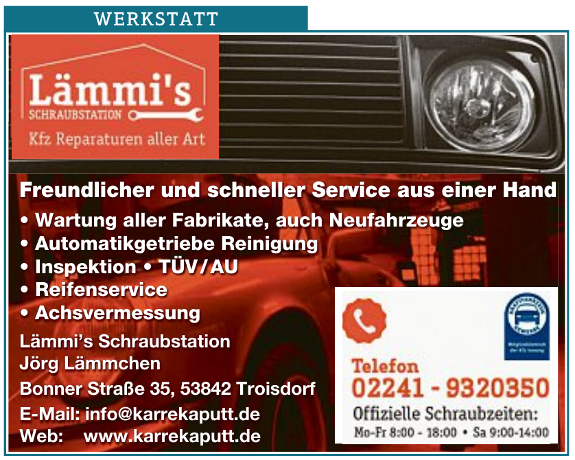 Lämmi's Schraubstation Jörg Lämmchen